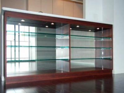 【k010】ガラス飾り棚