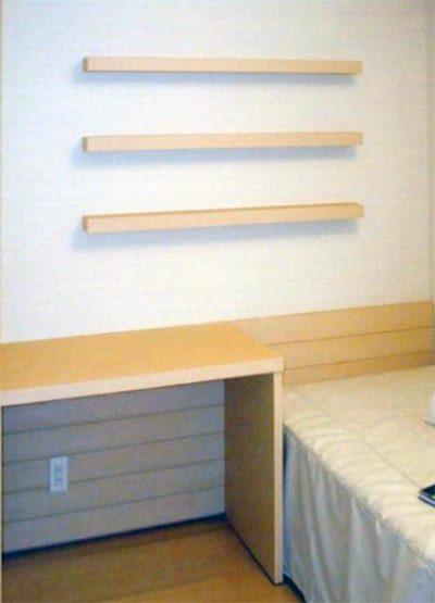 ベッドヘッドボード【d001】
