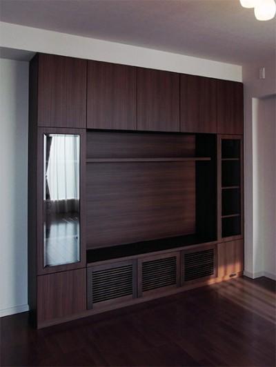 壁面収納・TVボード【h014】