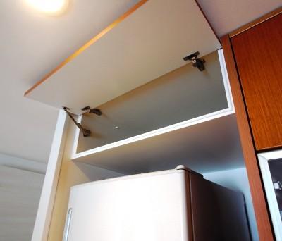 冷蔵庫上吊戸棚【t017】1