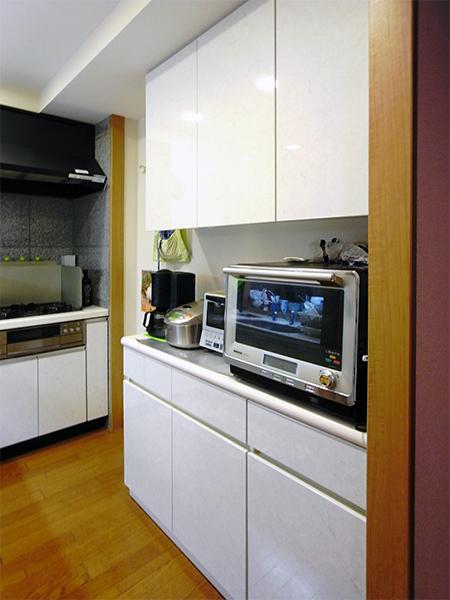 【tk005】食器棚,キッチンボード扉交換