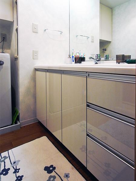 【tk006】洗面化粧台扉交換