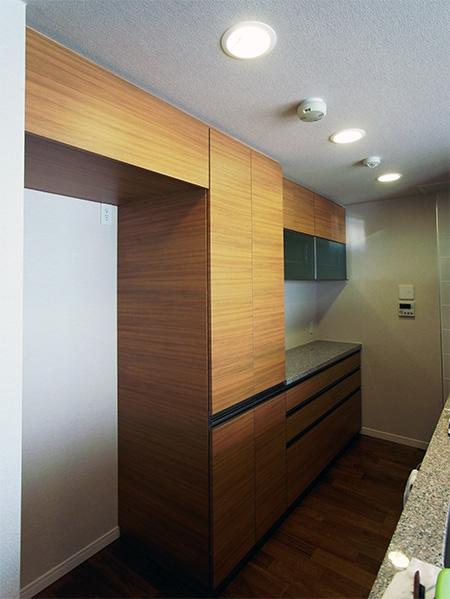 食器棚,冷蔵庫上吊戸棚,パントリー【s050】