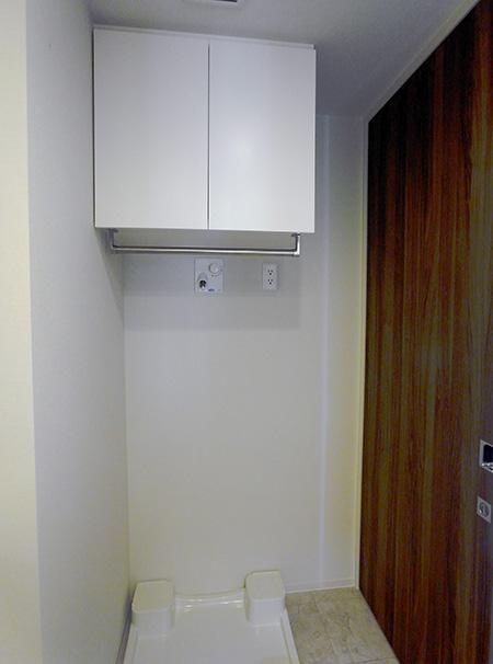 洗濯機上吊戸棚【t028】