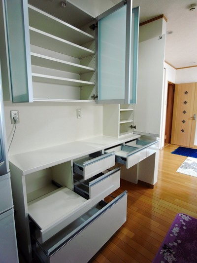 オーダー食器棚【s077】