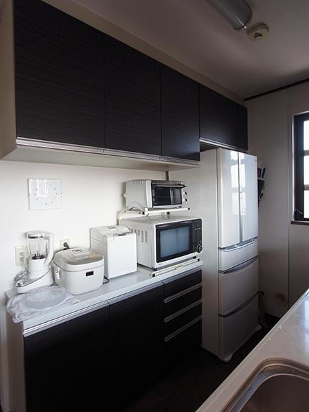 【tk020】食器棚,冷蔵庫上吊戸棚