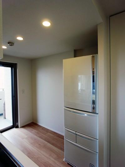 食器棚+冷蔵庫上吊戸棚【s101】