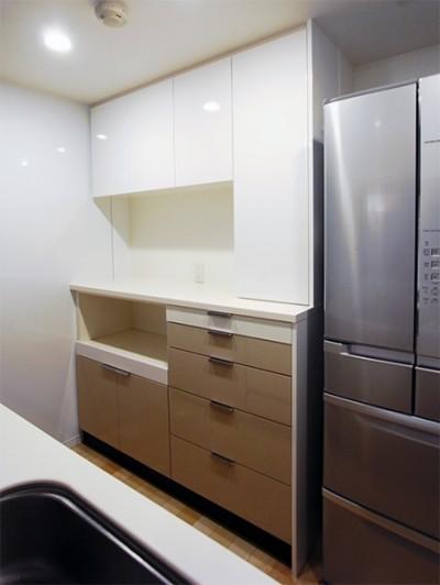 オーダー食器棚【s107】
