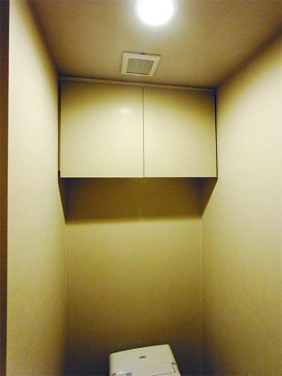 トイレ吊戸棚 扉交換【tk023】