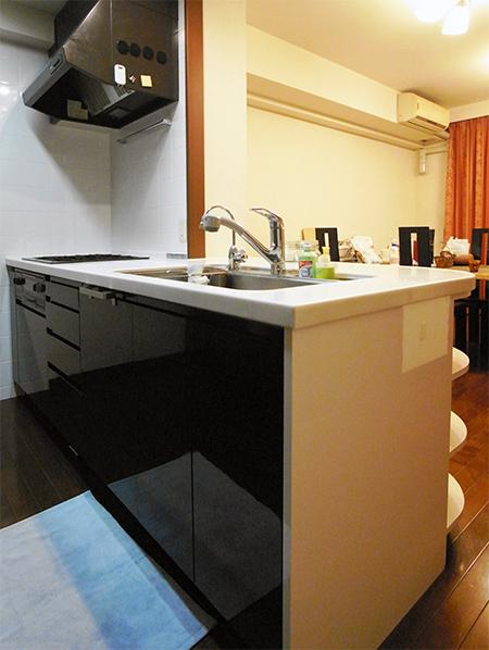 【tk025】キッチン扉交換