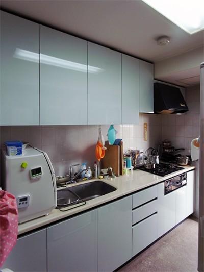 システムキッチン扉交換【tk025】