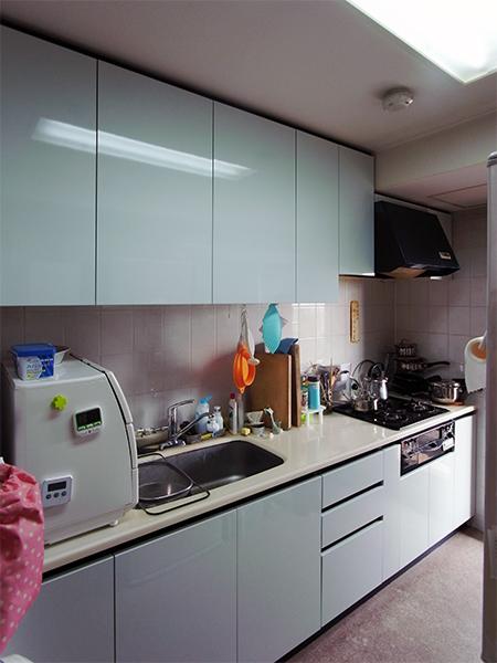 【tk026】キッチン扉交換