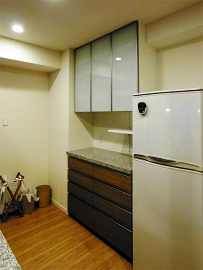 オーダー食器棚【s078】