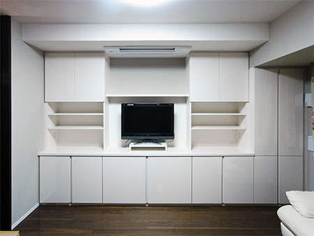 TVボード,壁面収納【tb010】
