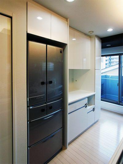 食器棚・冷蔵庫上吊戸棚【s035】