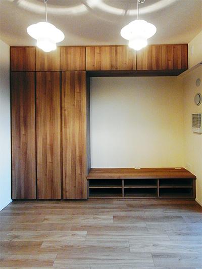 【h029】TVボード,トール収納