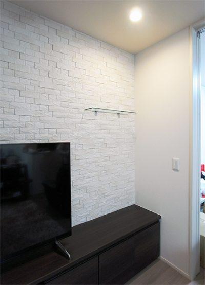 TVボード+飾り棚【tb025】