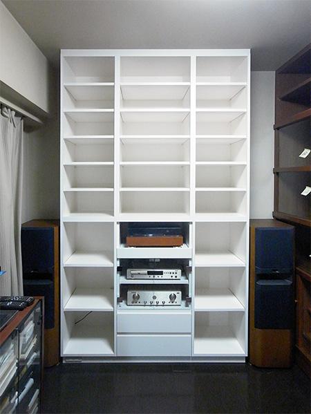 【b015】本棚,オーディオラック