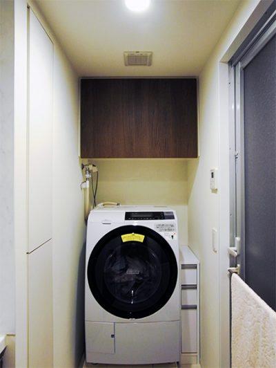 洗濯機上吊戸棚【t033】