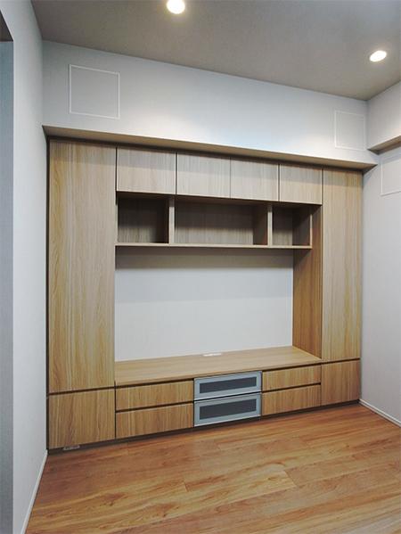 【h034】壁面TVボード