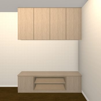 壁面収納・TVボード【jh04-01】