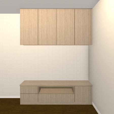壁面収納・TVボード【jh04-04】