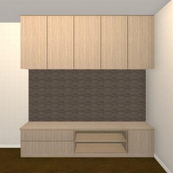 壁面収納・TVボード【jh05-03】