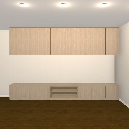 壁面収納・TVボード【jh08-01】