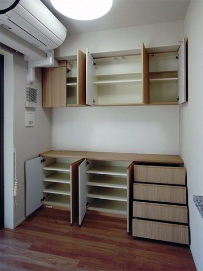 壁面収納・リビングボード【h035】