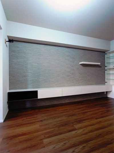 壁面収納,TVボード,飾り棚【h037】