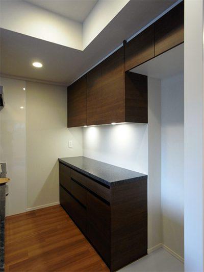 食器棚+冷蔵庫上吊戸棚【s153】