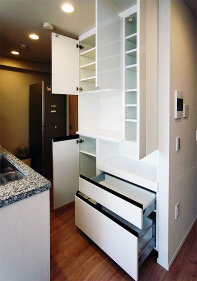 トール型食器棚【s145】