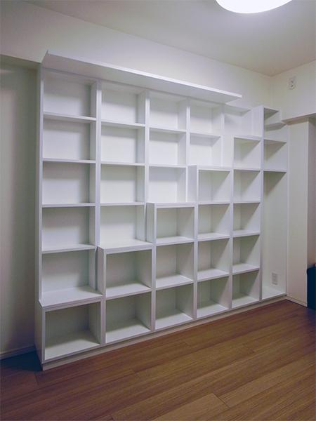 【b017】キャットウォーク本棚