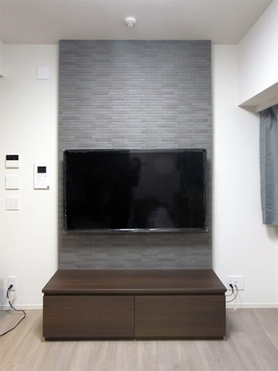 壁掛けテレビパネル,ローボード【h045】