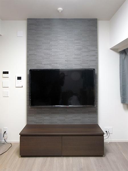 【h045】壁掛けテレビパネル