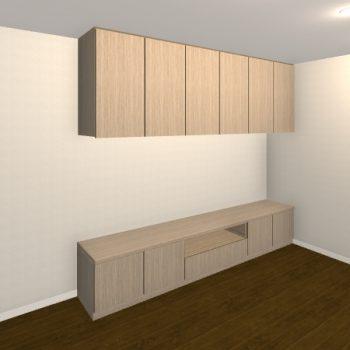 壁面収納・TVボード【jh06-02】