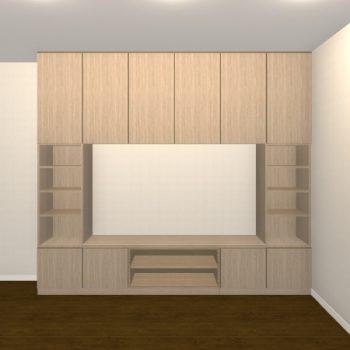 壁面収納・TVボード【jh06-t01】