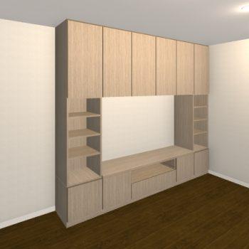 壁面収納・TVボード【jh06-t02】
