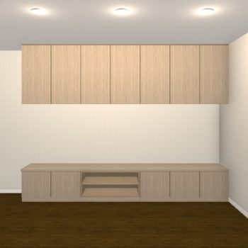 壁面収納・TVボード【jh07-01】