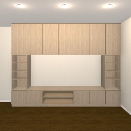 壁面収納・TVボード【jh07-t01】