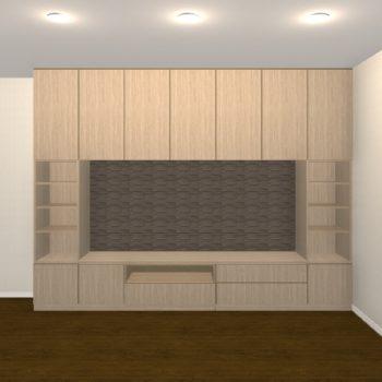 壁面収納・TVボード【jh07-t02】