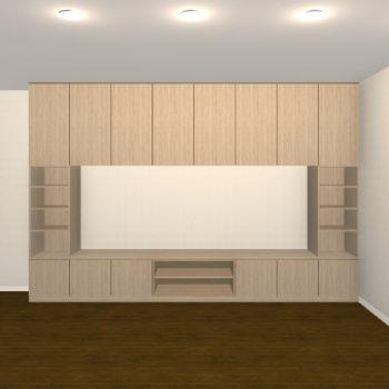 壁面収納・TVボード【jh08-t01】