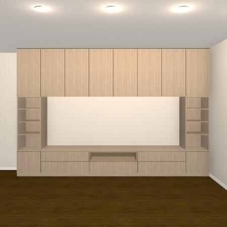 壁面収納・TVボード【jh08-t02】