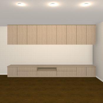 壁面収納・TVボード【jh09-04】