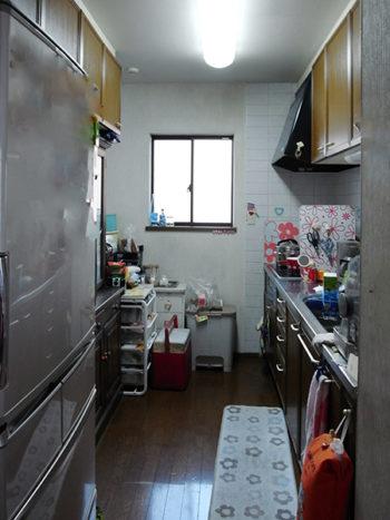 【tk035】キッチン扉交換