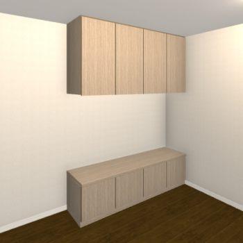 壁面収納・TVボード【jh04-05】