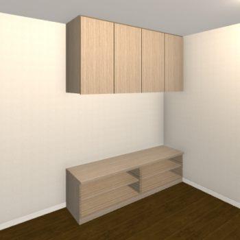 壁面収納・TVボード【jh04-06】