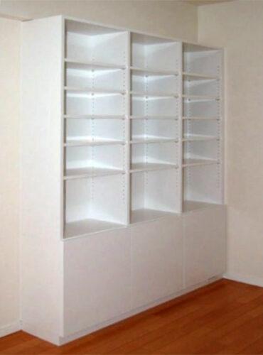 【b003】本棚,開き扉収納