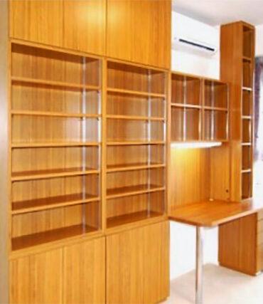【b007】本棚,デスク