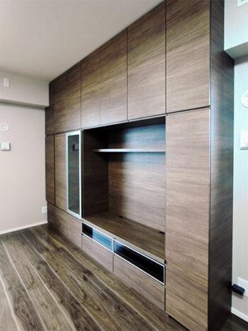 【h055】壁面TVボード